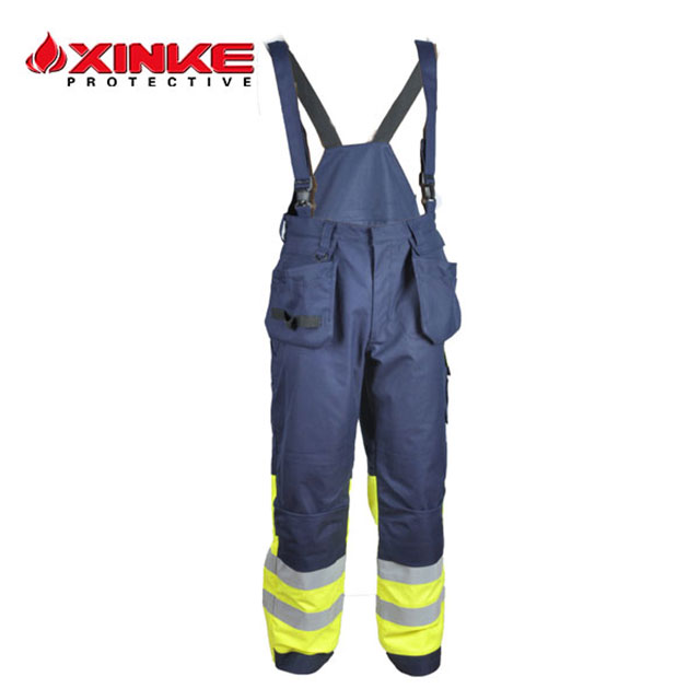 safety pants Flame retardant safety used fr work bib pants