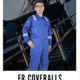 anti fire coverall clothing